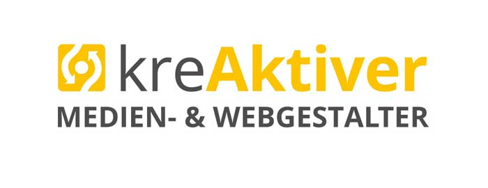 Abbildung: kreAktiver Medien- & Webgestalter Logo